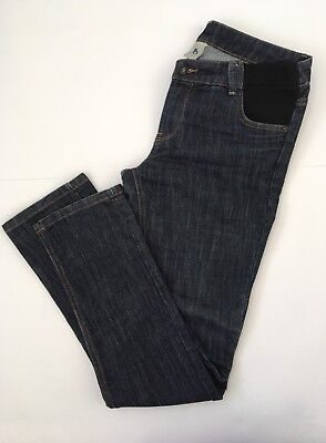 Bub2b Blue Slim Fit Maternity Jeans Size 10 Adjustable Waist Panels