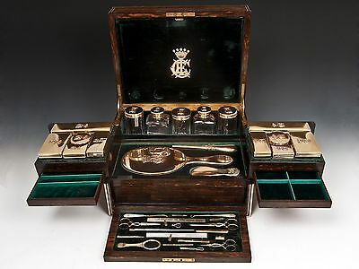 Silver Gilt Dressing Case 1866