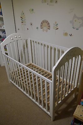 Mothercare White Playbead Cot