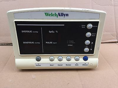 Welch Allyn Patient Vital Signs SpO2 PULSE Display Monitor 52000 Series