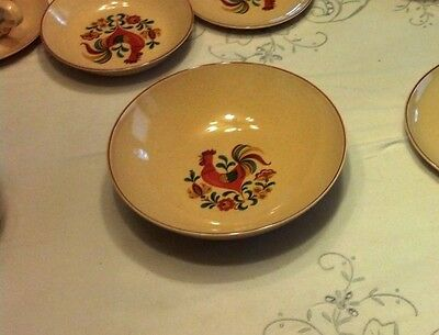 "Taylor Smith Taylor REVIELLE ROOSTER 9"" SERVING BOWL"