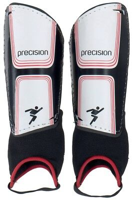 Precision Vector Shin & Ankle Pads (Black/White/Red)