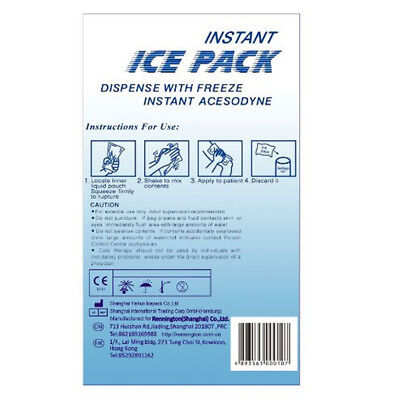 Instant Ice Packs