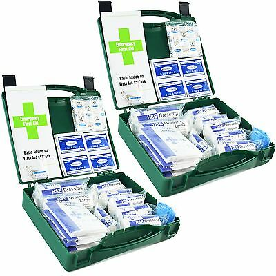 JFA Medical HSE 10 Person First Aid Kit in Green Box - Bulk buy discounts.