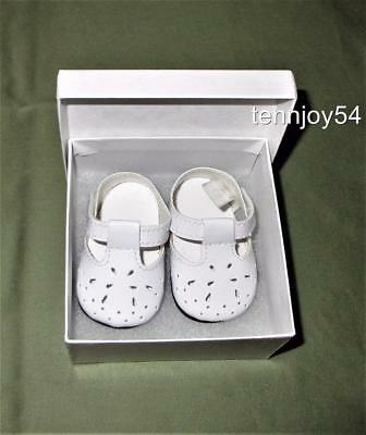 American Girl Molly and Emily White Pierce Shoes OnlyTagged NEW *Free Ship*