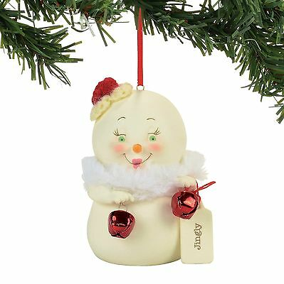 Department 56  Snowpinions Jingly Ornament New 2017 !