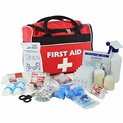 JFA All-Purpose Sports First Aid Kit in Large Red Run- On Bag