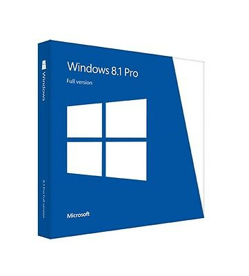 Windows 8.1 Professional Pro 32/64Bit Key Licenza Multilanguage