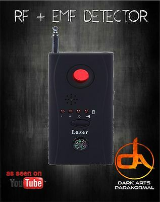 EMF Ghost Detector Paranormal Investigation Ghost Hunting Equipment