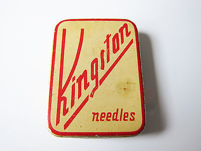 Grammophon NADELDOSE KINGSTON gramophone needle tin