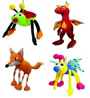 Colourful Springy Animal Mobiles for Child's Bedroom/Nursery - Many Varieties