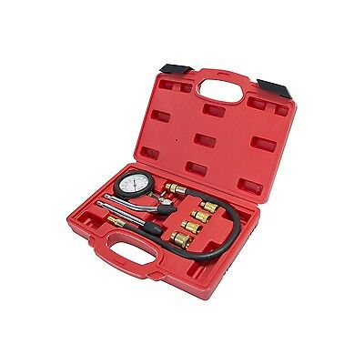 Am-Tech Heavy Duty Automotive Compression Tester Kit For Petrol Engined Vehicles