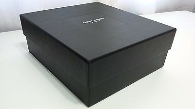 NEW! Authentic SAINT LAURENT empty gift box for purse tote bag shoes 10 x11 x4.5