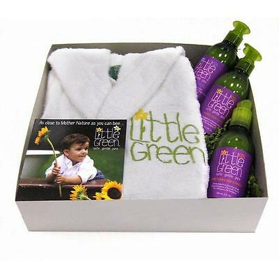 Little Green Toddler/Kids Robe Gift Set