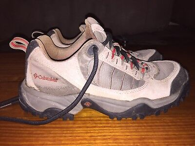 Columbia Men's Hiking Boots Size 7 Shoes Good Condition