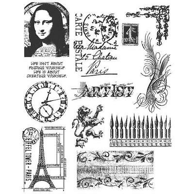 Tiny Things CMSLG 164 Tim Holtz Cling Stamps