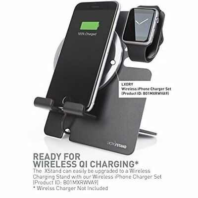 Apple Watch Stand iPhone Dock 2 in 1 Charging Station iWatch Portable Black New