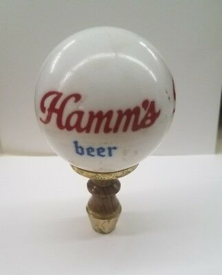 Vintage Hamm's Beer Ball Shape Tapper ..Collectible
