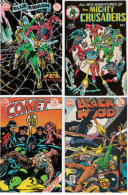 Archie/Red Circle Comics Assortment - The Fly, Mighty Crusaders, Comet, etc.