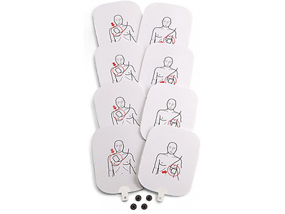 Adult Training Pad for Prestan Professional CPR AED Trainer PP-APAD-4 4 Pack