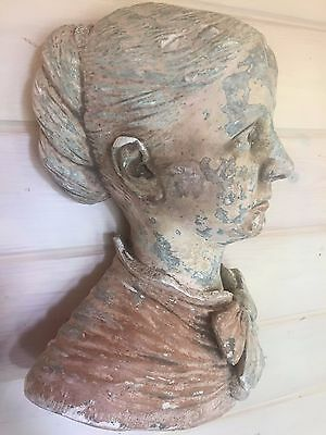 Vintage French Wall mounted Bust