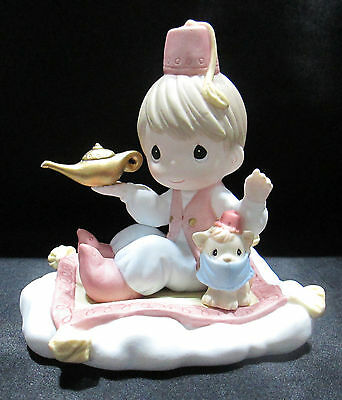 Precious Moments Figurine Your Wish is My Command Enesco 122009 Genie Lamp