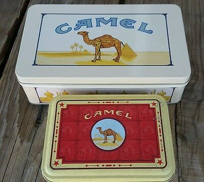 Vintage Camel Tins Lighter Matches Stud Earing 1994 Tobacco Smoking Collectable