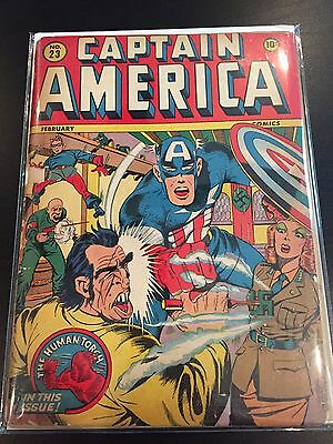 Captain America Comics #23 Timely Comics
