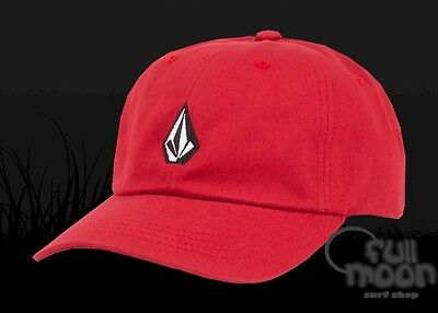 pretty nice 8a086 3f3a3 new style volcom snapback hats for men for sale ebay 4adc0 bd808  clearance new  volcom papa dad red strapback cap hat 1675a 7c644