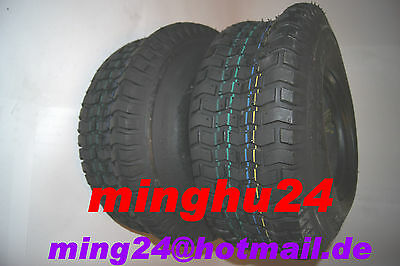 2 Lawn Mower Tires RIDE-ON MOWER TYRES 11x4.00-5 RIDE-ON MOWER TUBE 11x4.00-5
