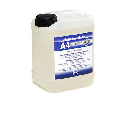 Elma Tec Clean A4 Ultrasound Universal Cleaner 2,5 L For Ultrasonic Cleaning