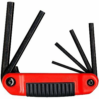 "Eklind 25611 Standard 6pc Ergo-Fold Hex Key Set 5/32"" to 3/8"" - Large"