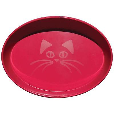 Scream OVAL CAT BOWL 300ml Loud Pink Cat, Kitten Food and water bowl Brand new