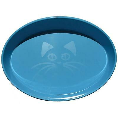 Scream OVAL CAT BOWL 300ml Loud Blue Cat, Kitten Food and water bowl Brand new