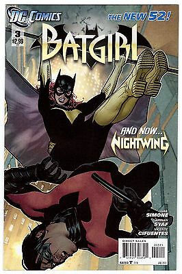 Batgirl #3 New 52 Adam Hughes Cover vs Nightwing Movie Coming Soon VF/NM