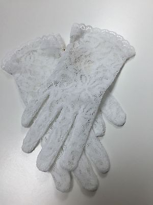 Lace Gloves for girls  Wrist Length