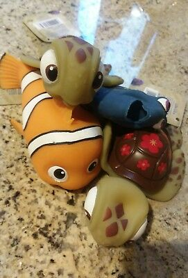 Imperial Toy Lifelike Dory Nemo And 2 Squirts  Slightly Defective Not As Fluffy