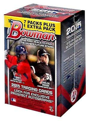 2015 Bowman MLB Baseball card factory sealed box - brand new! AUTO'S!!! WOW