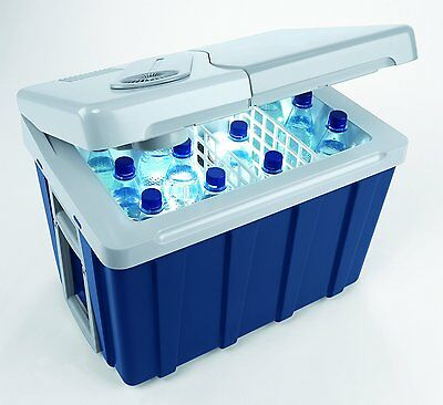 Mobicool W40 40L Thermoelectric Cool Box Cooler with Wheels, 12v/230v