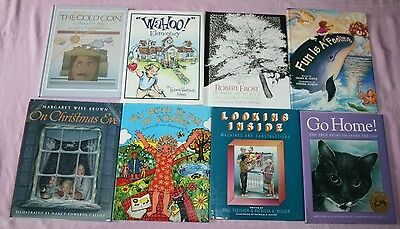 Lot of 20 CHILDREN'S EDUCATIONAL PICTURE STORY BOOKS HOME SCHOOL 14 HARDCOVER
