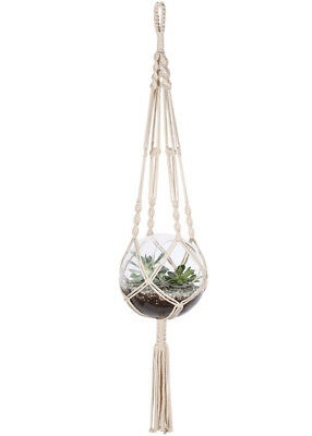 48 Inches Plant Hanger Flower Pot Plant Holder for Indoor Outdoor Decorations
