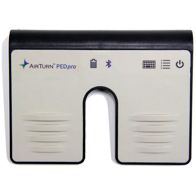 AirTurn PEDpro Bluetooth Page Turner Controller Rechargeable for Music Lyrics Sl
