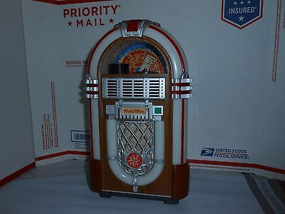 Vtg Leadworks Japan Micro Cassette Wurlitzer Jukebox Coin Slot Bank Untested