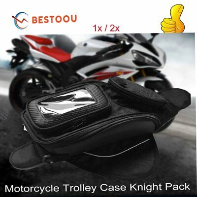 Motorcycle Motorbike Fuel Tank Bag Phone GPS Navigation Magnetic Waterproof BU