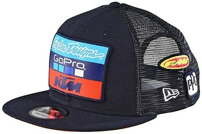 Troy Lee Designs 2017 TLD KTM SnapBack Hat Blue Cap 712505370 MX EXC SX SXF XC