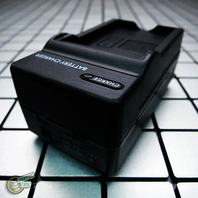 AC/Car DMW-BCG10/BCG10E/BCG10PP Battery Charger for Panasonic Lumix DMC-TZ7/TZ30