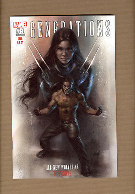 Generations Wolverine, All-New Wolverine 1 Parrillo Var. Ldt 3000 Presale 8/16