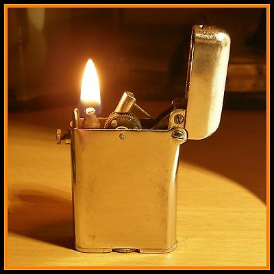 Briquet essence Thorens Standard - 1930 - RARE - vintage lighter Feuerzeug