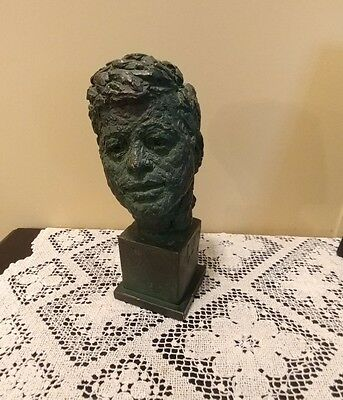 Robert Berks Presention Of 15Th Annual Convention Kennedy Bust