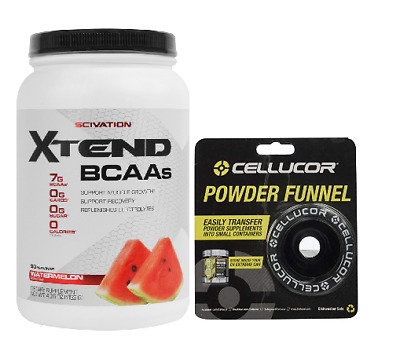 SCIVATION XTEND 90 SERVES BCAA's + ELECTROLYTES - FREE POWDER FUNNEL